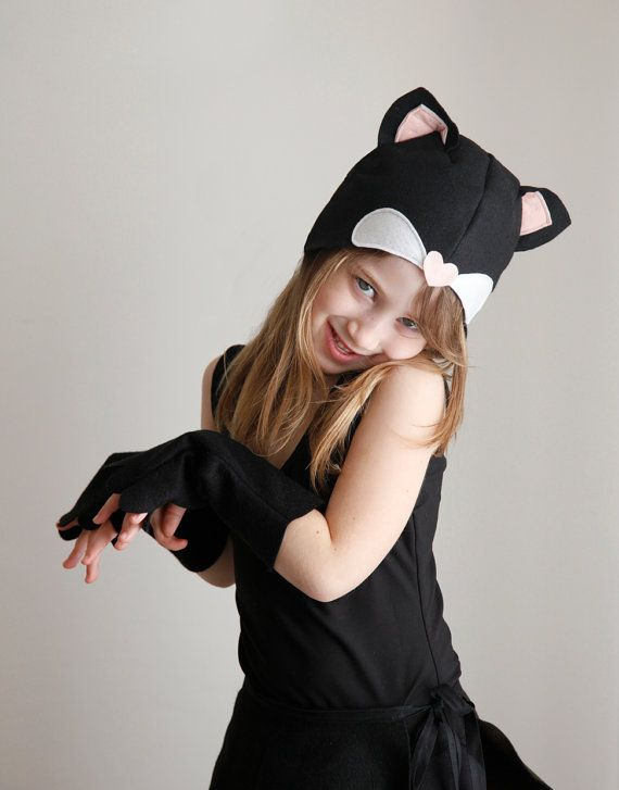Kitten PATTERN DIY costume mask sewing tutorial creative play ...