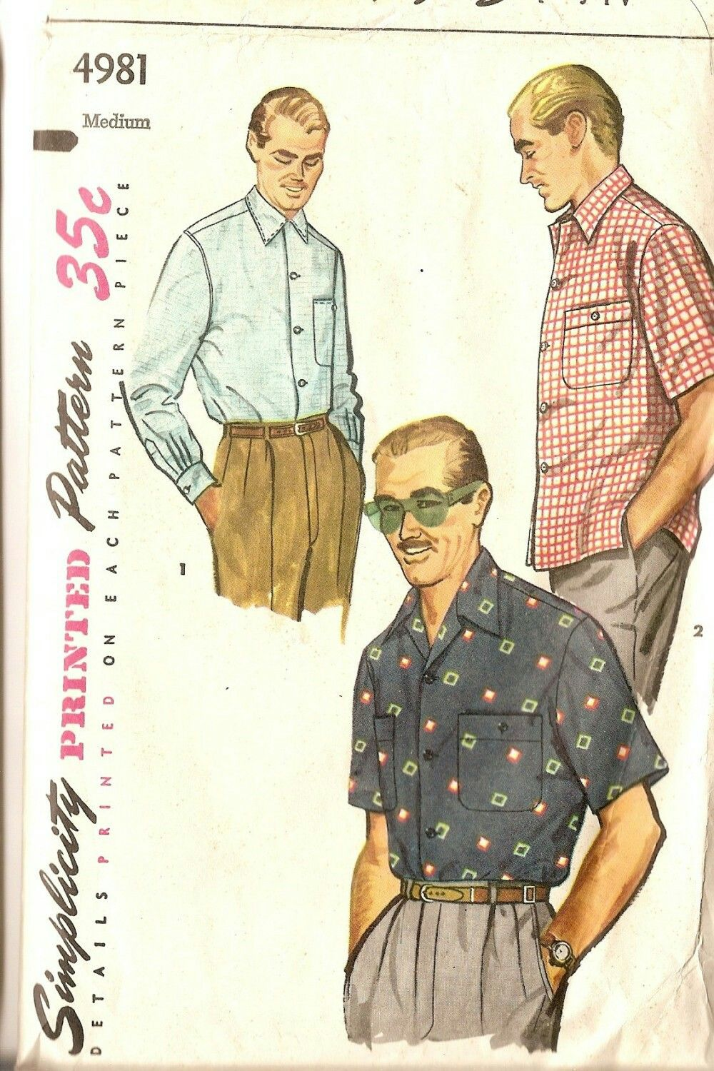 Pin by trib mit on sewing patterns mccall butterick simplicity camp shirts for men jeuxipadfo Images