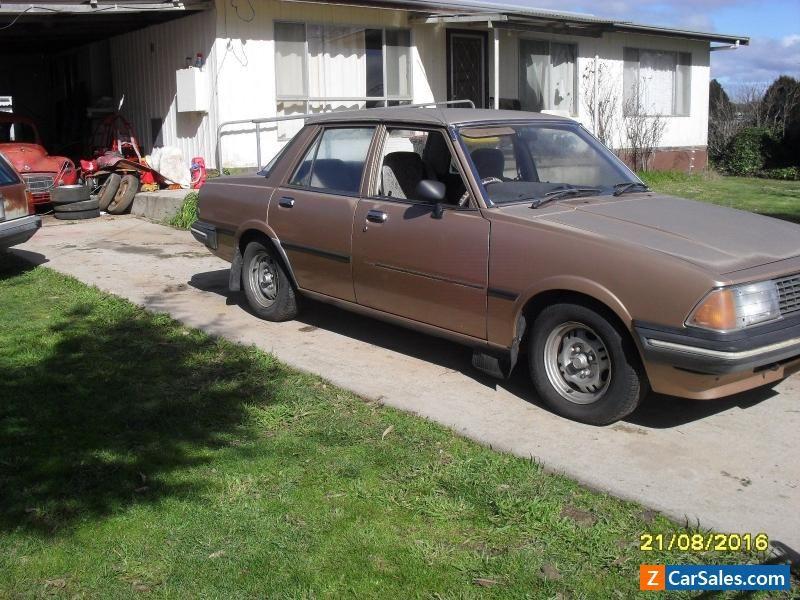1982 MAZDA 626 SEDAN AUTO Survivor Car Vintage JDM. Original Low Kms ...