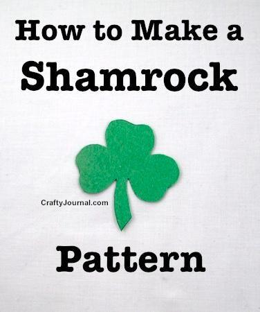 DIY St. Patrick's  : DIY Easy Way to Make a Shamrock