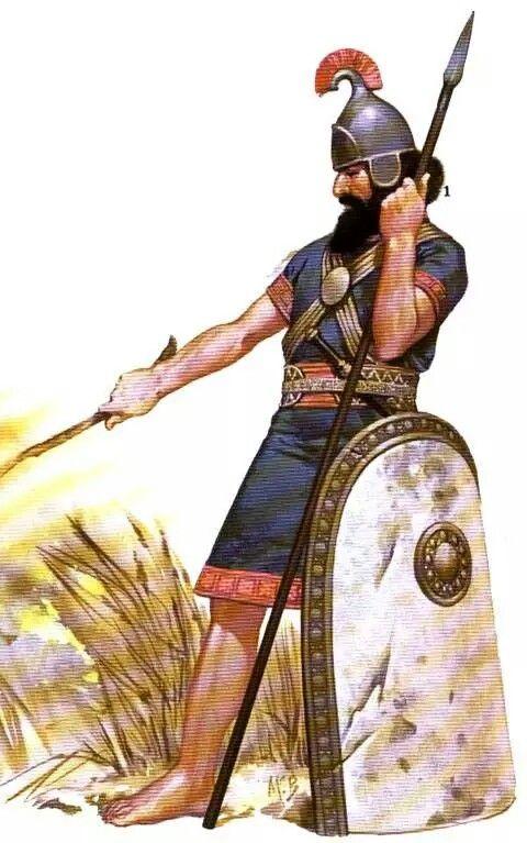 - Infanteria Asiria . Siglo Vll a.C./tcc/