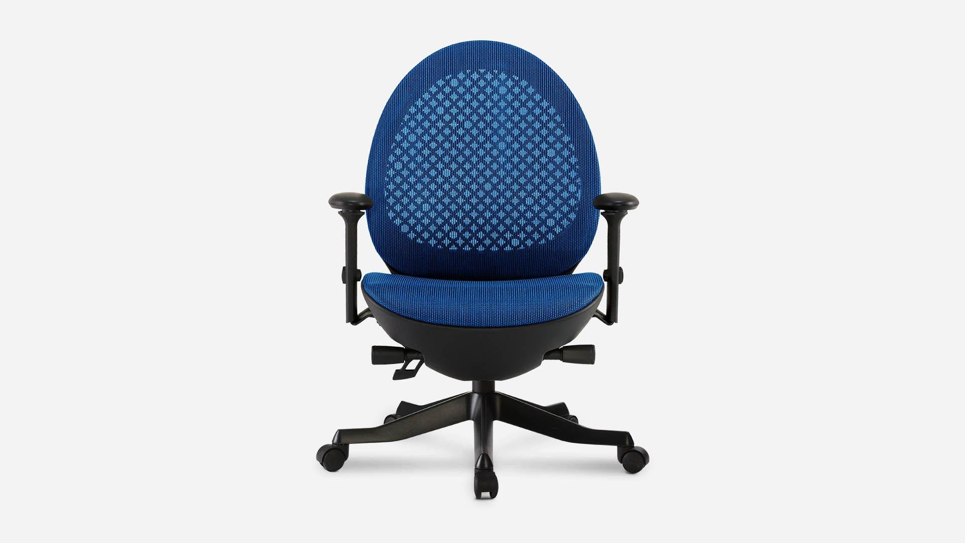 Avochair baby blue autonomous office chair office