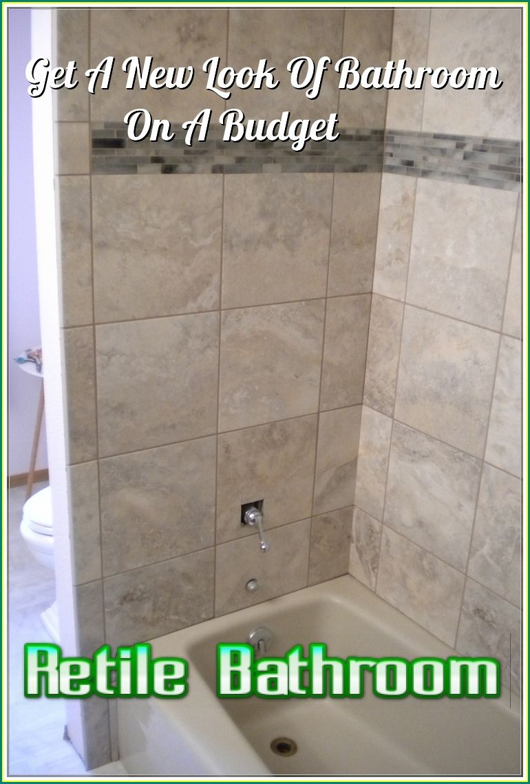 How To Retile Bathroom By Yourself Like The Professional With Images Home Maintenance Home Decor Tips