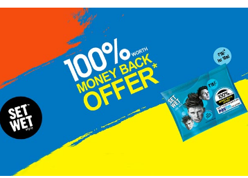 Paytm Setwet Gel 100% Cashback Offer : Buy Setwet Gel and get Rs 10 Paytm Cash