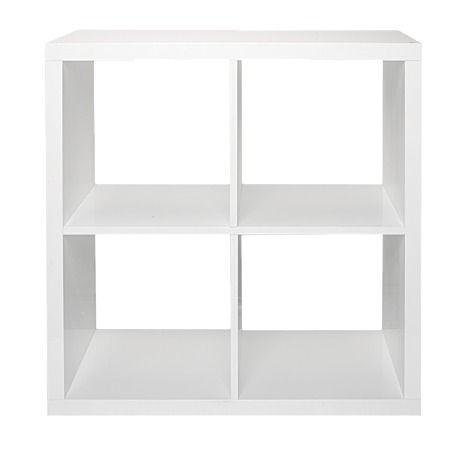 Solano Modena Storage 4 Cube Gloss White