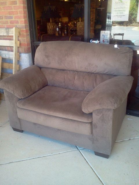 Super Comfy Chair And 1/2.