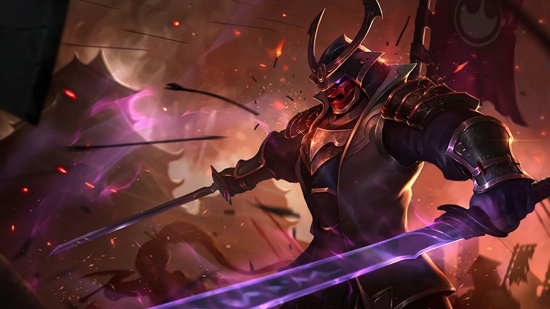 Warlord Shen Skin League Of Legends Lol Champions League Of