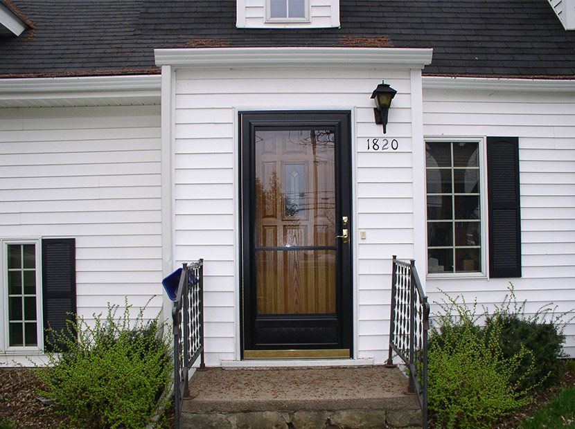 Charmant Black Storm Doors   Google Search Black Front Doors, Storm Doors, Storms,  Home