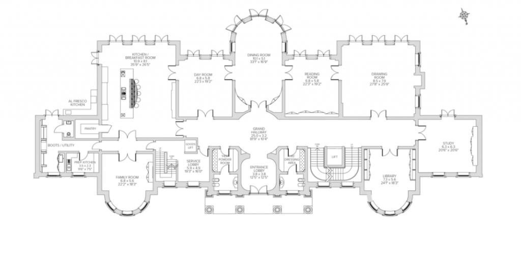 Cedc047eeca206fe7af9621e0456c884 Png 1024 513 Luxury Floor Plans Mansion Floor Plan Mega Mansions