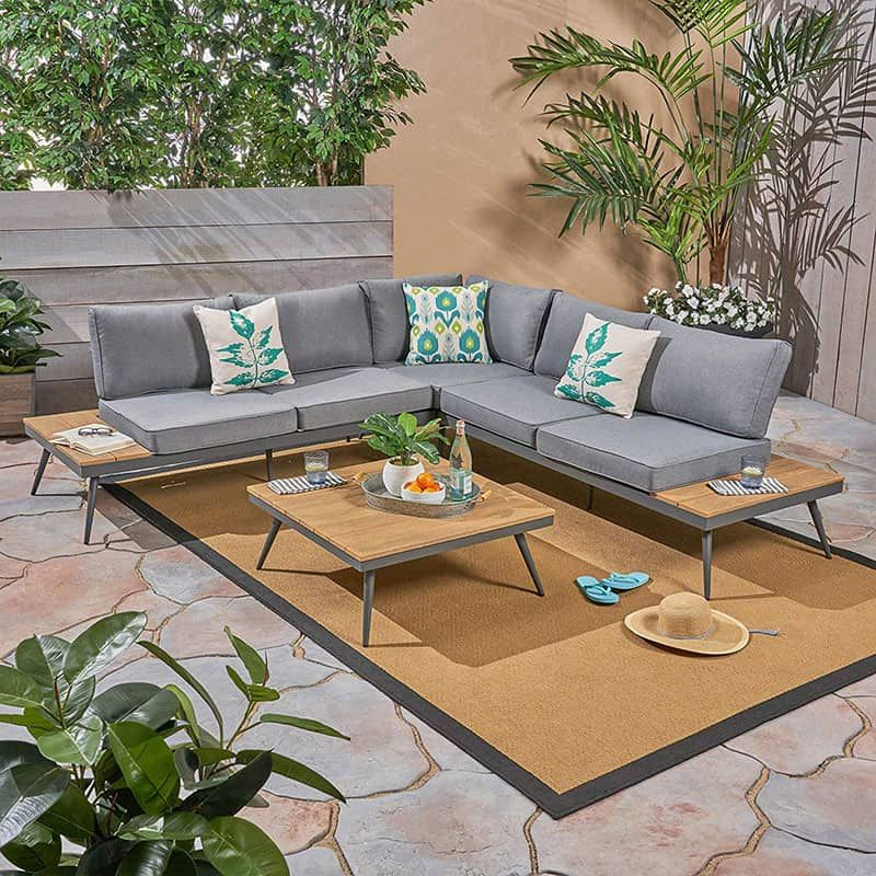 Affordable Outdoor And Patio Furniture To Buy Right Now Outdoor Furniture Sets Outdoor Sofa Sets Pallet Furniture Bar