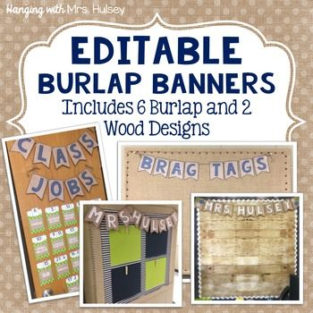 I created this product to match my classroom navy and burlap color scheme! Please be sure you have PowerPoint before purchasing so that you can…