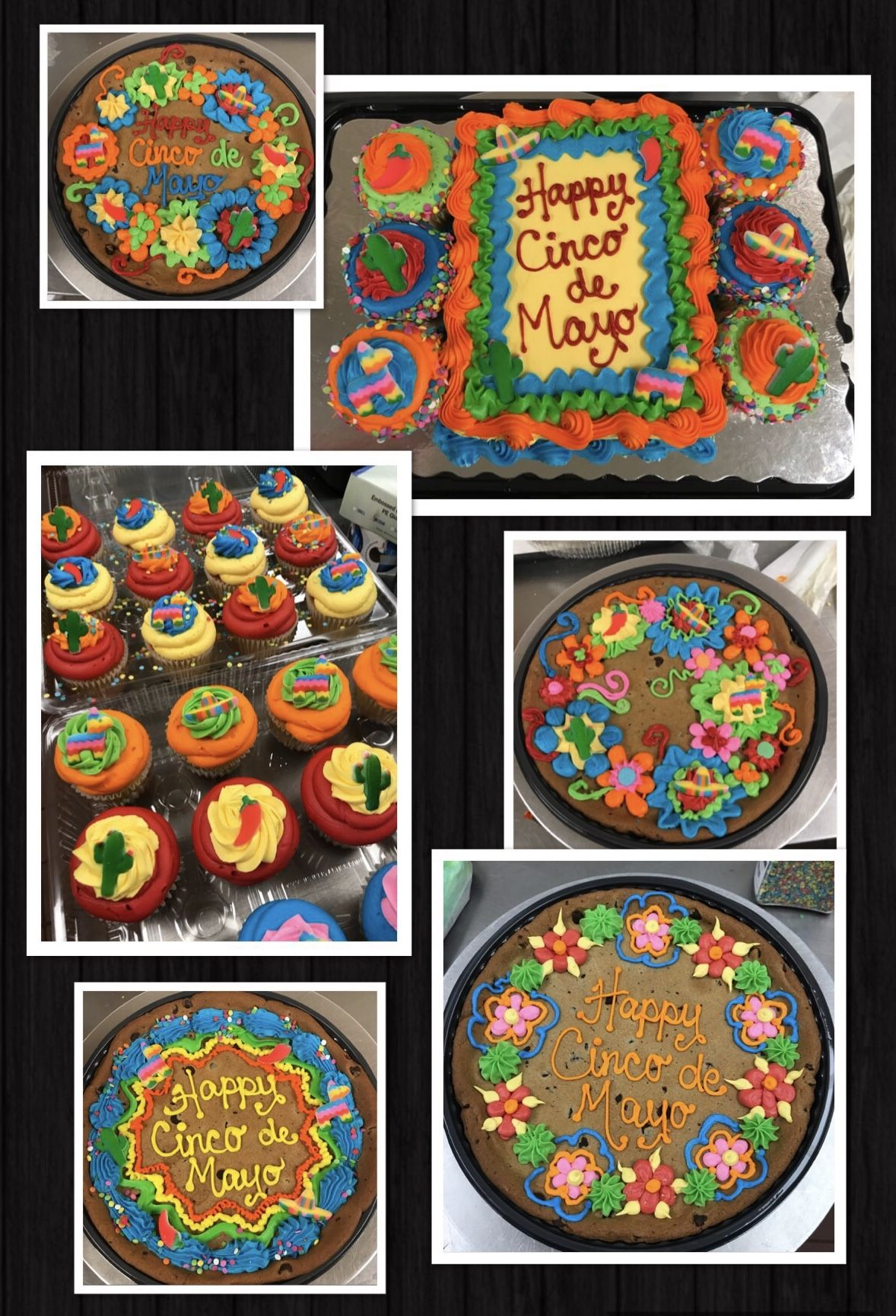 Cinco De Mayo Cakes Giant Cookie Cake Cake Cookies Cake Decorating