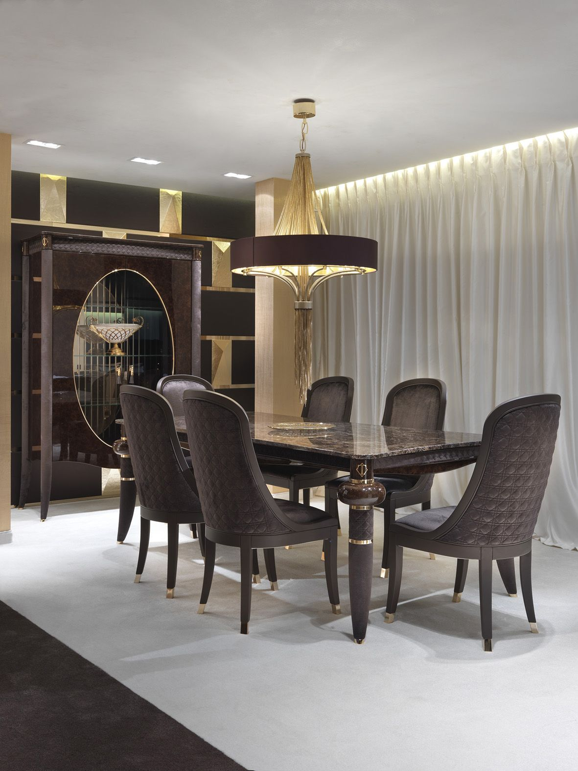 Italian Furniture For Exclusive And Modern Design Luxury Dining