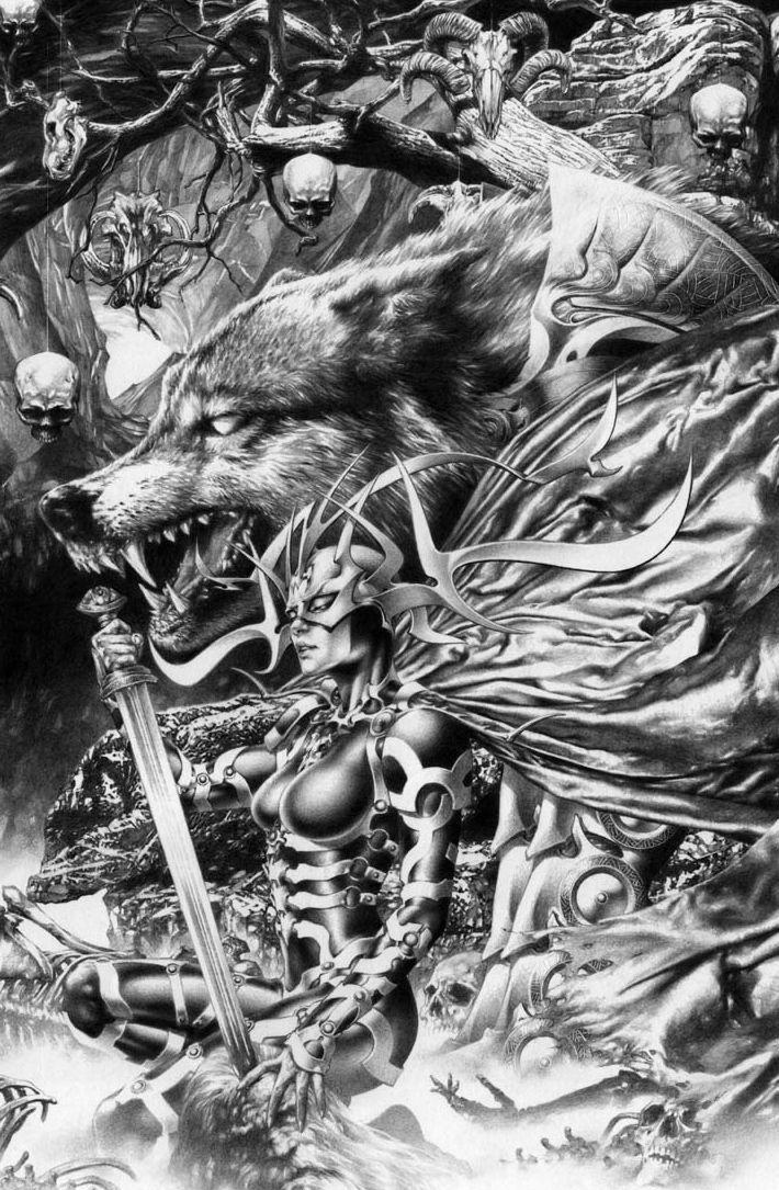 Hela by Jay Anacleto | Mythology | Pinterest | Tiempo libre ...