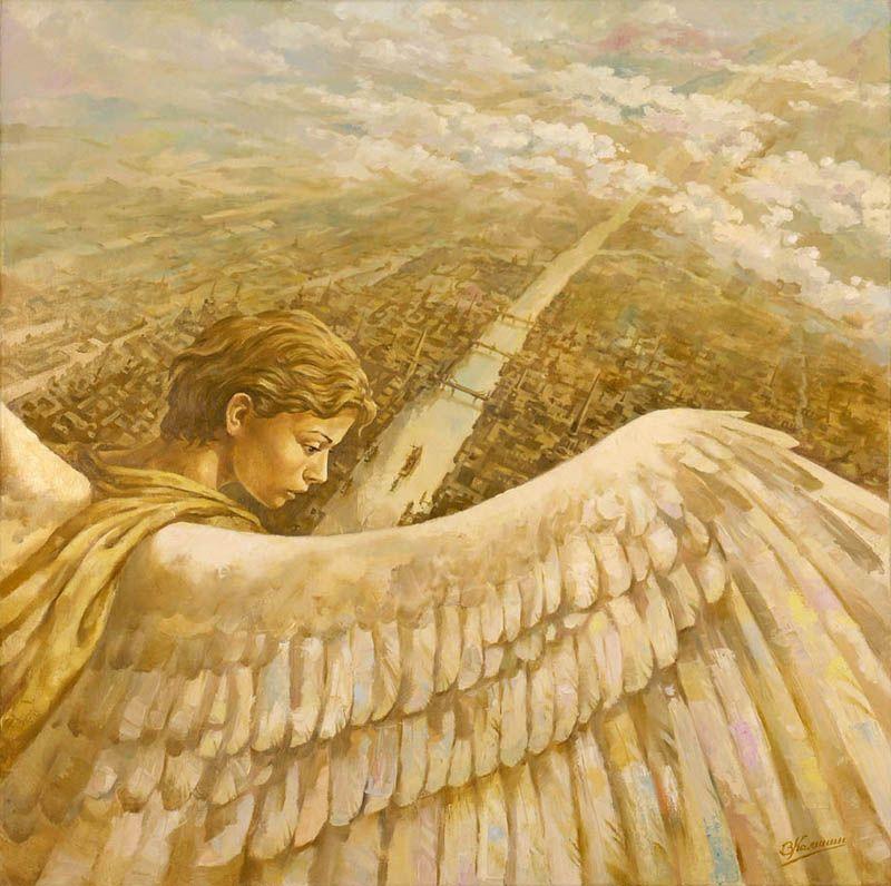 летящий ангел картинки полезных