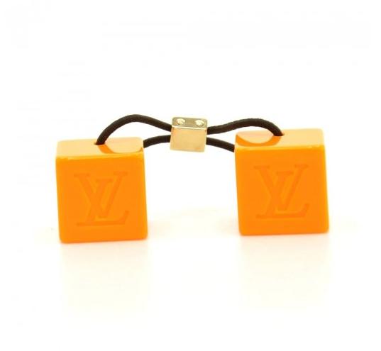 Louis Vuitton Crystal Cube Hair Tie Bobbles. Yummy color for fun!!   HairCandy  Louisvuitton  fmasarovic 9b0e309cbfd