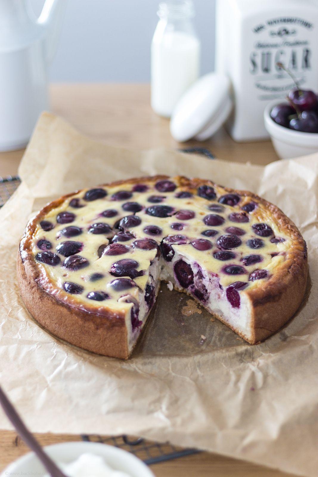 Kirsch Schmand Kuchen Rezept Rezepte Kirschen Kuchen Und Backen