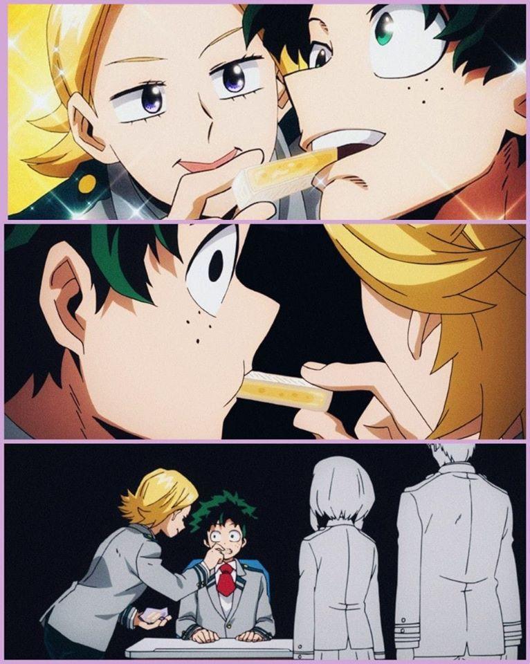 Aoyama S Just Trying To Help Cute Anime Character My Hero Academia Shouto My Hero Academia