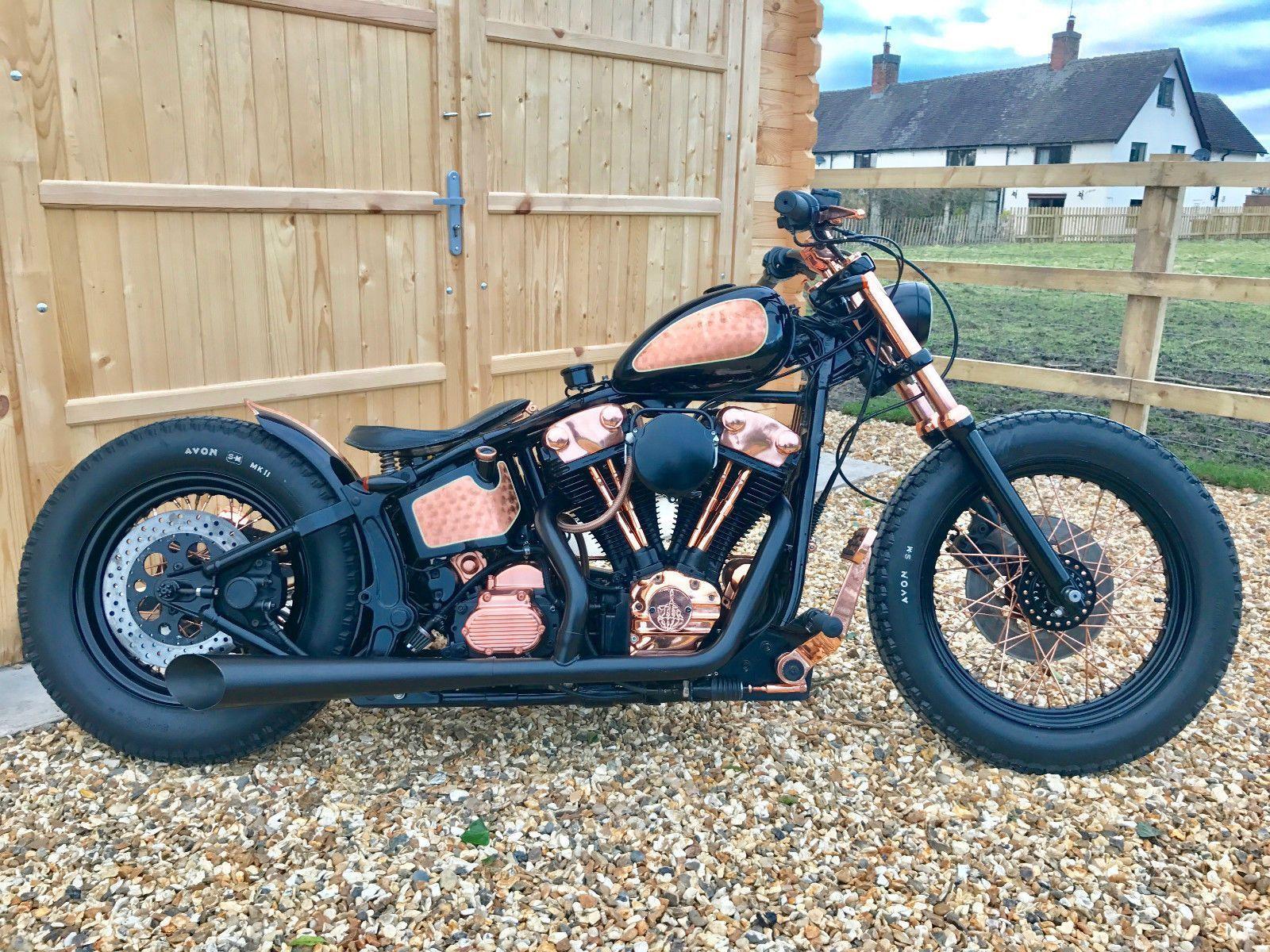 SOLD - Harley Davidson Softail Custom Bobber Chopper | eBay ...
