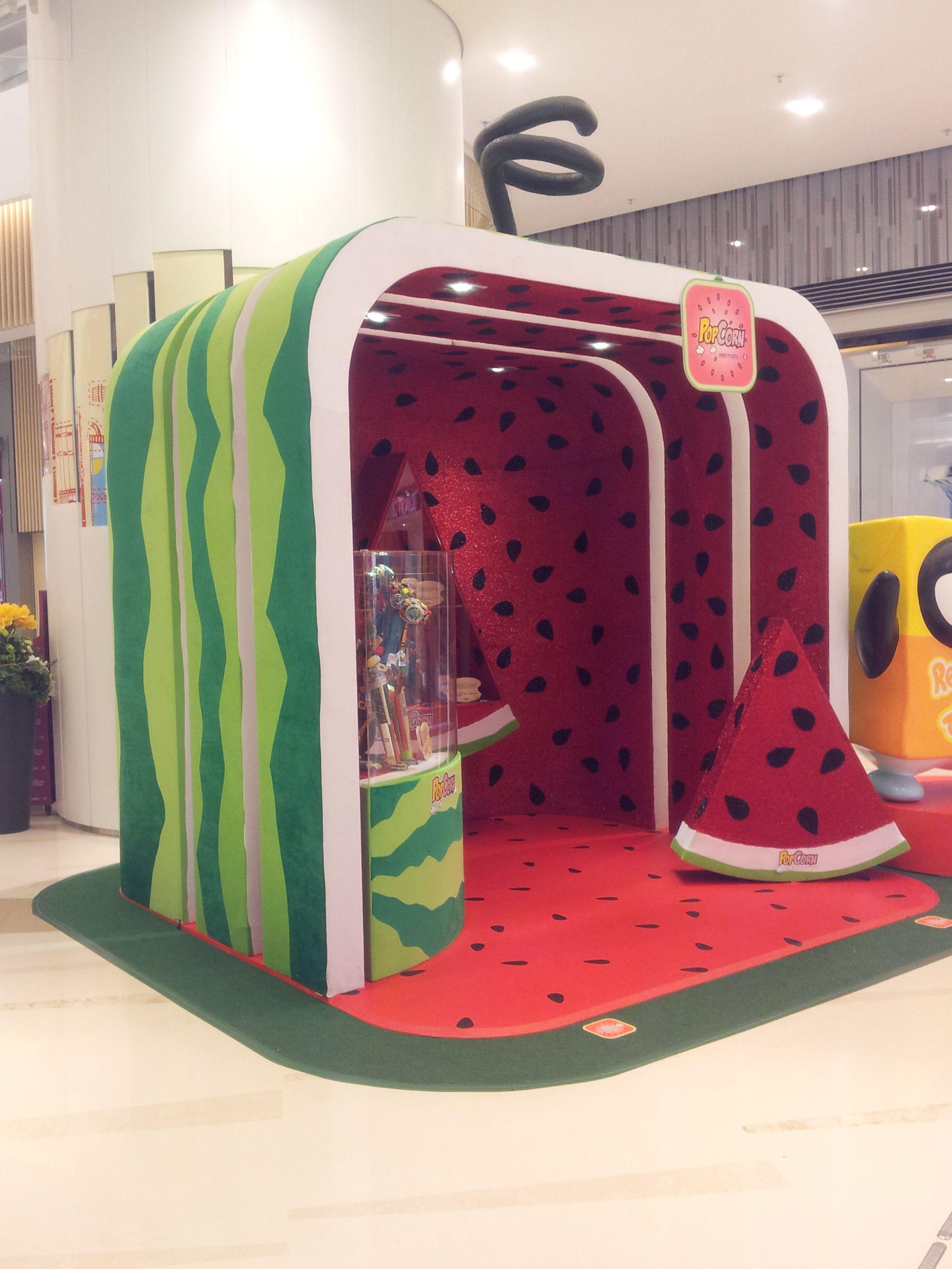 Display at Hong Kong Shopping Mall