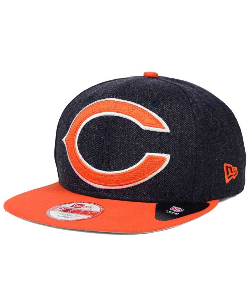 New Era Chicago Bears Logo Grand 9FIFTY Snapback Cap