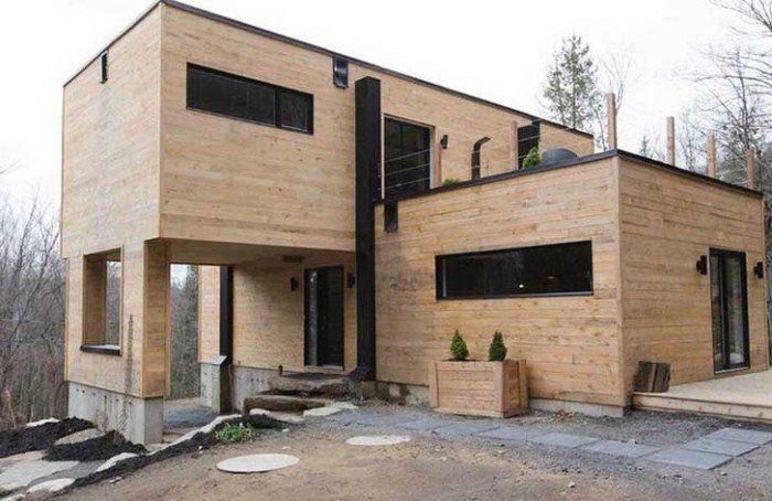 Elle a acheté quatre containers métalliques, et les a transformés - Budget Pour Construire Une Maison