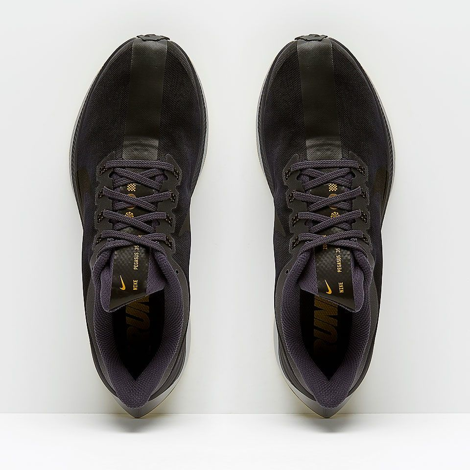 sale retailer 89949 63bef Nike Zoom Pegasus 35 Turbo - Gridiron Black-Atmosphere Grey-Peat Moss -  AJ4114-003