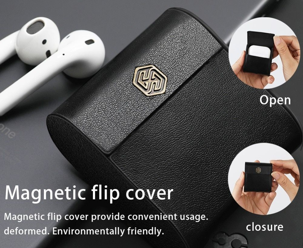 30d7508b593 Nillkin for AirPods Case Wireless Charging Protective Cover Qi Standard for Apple  AirPods Compatible with Qi wireless Charger Review
