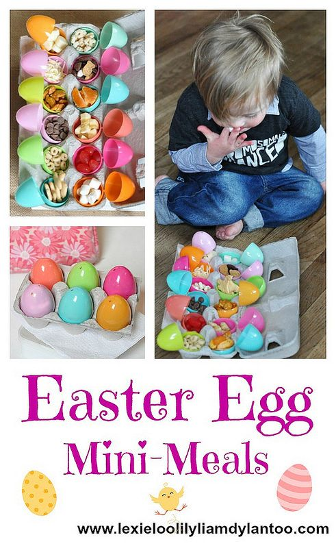 Lexie Loo, Lily, Liam and Dylan Too!: Easter Egg Mini-Meals for Kids