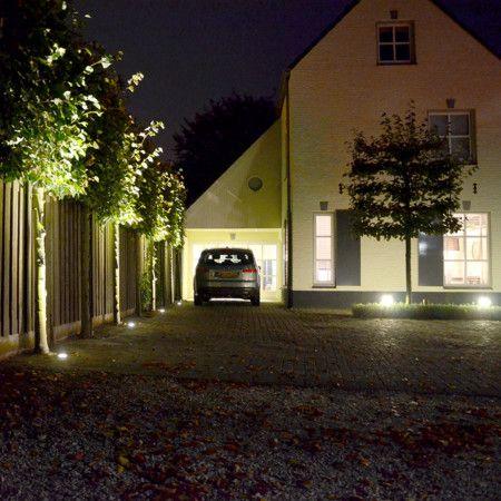 Bodeneinbaustrahler Basic Round LED | Bodeneinbaustrahler