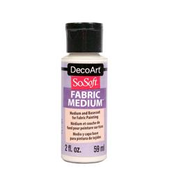 Decoart Sosoft Transparent Medium Transparent Fabric Painting Printing On Fabric