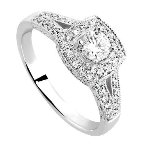 Absolutely Perfect Michael Hill 057 Carat Diamond Ring