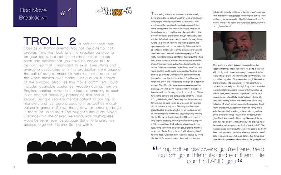 Magazine Layout - Branding & Layouts - Najla Qamber Designs