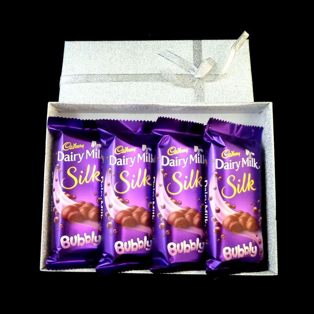 Chocolate box dairy milk silk cadbury dairy milk dairy