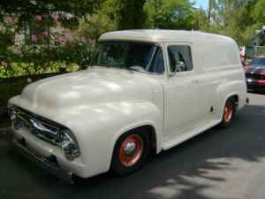 41634079a4 1956 Ford F100 Panel Truck