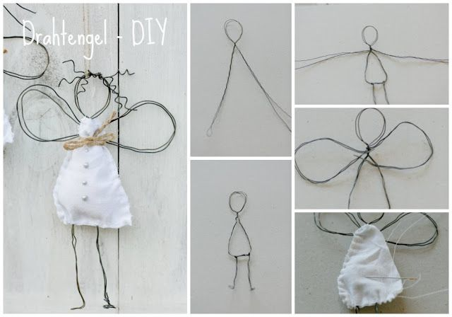 Photo of My first angel or wire angel DIY • Pomponetti