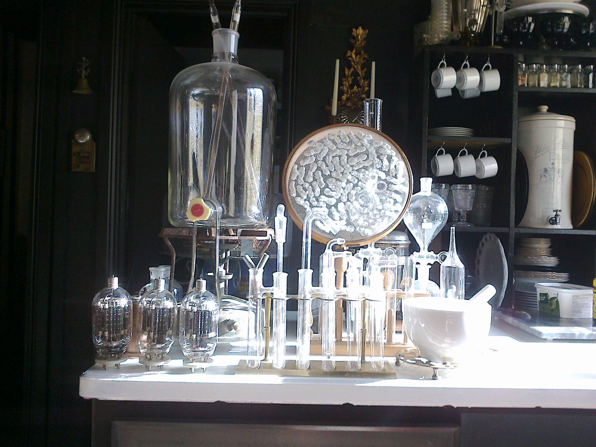 Gothic Science Lab Kitchen