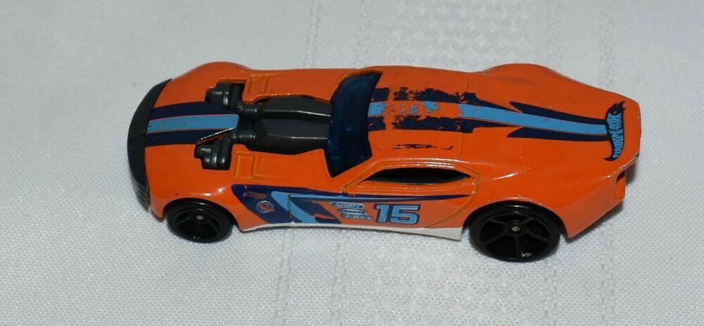Hot Wheels Orange Race Car 15 Made In Malaysia Ebay Hot Wheels Car 15 Race Cars