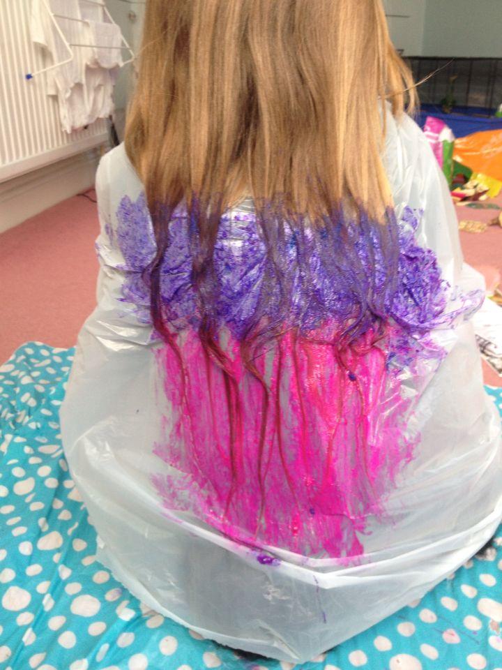 Diy Hair Chalk Dye You Will Need