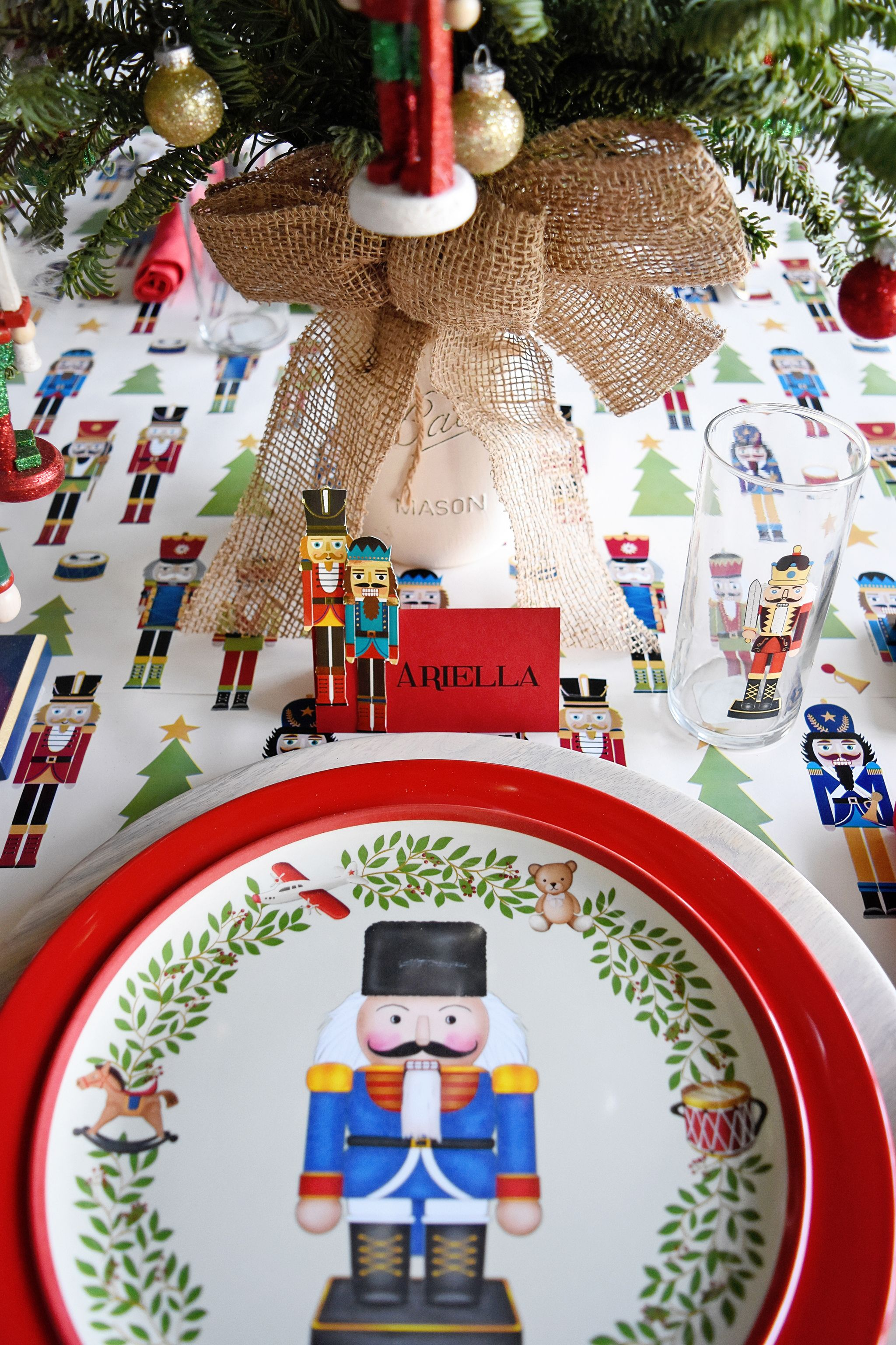 Host A Nutcracker Themed Party Project Nursery Nutcracker Christmas Party Themes Nutcracker Christmas Party