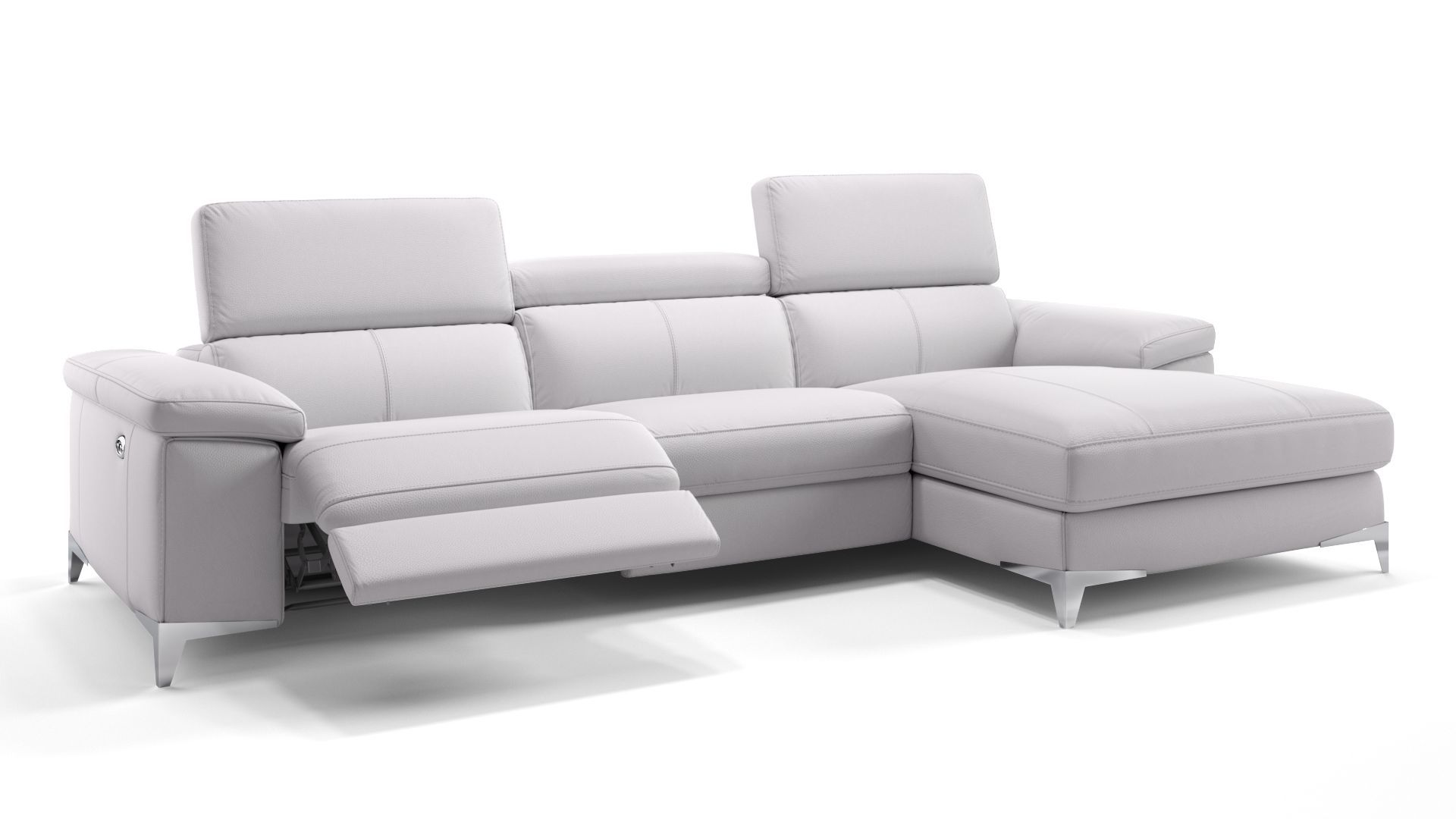 Venosa Leder Eckcouch Sofa Couch Mobel Couch