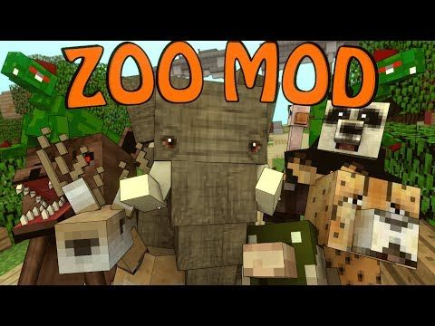 Minecraft Crazy Zoo Animals Mod Showcase Mobs Mod Crazy Zoo
