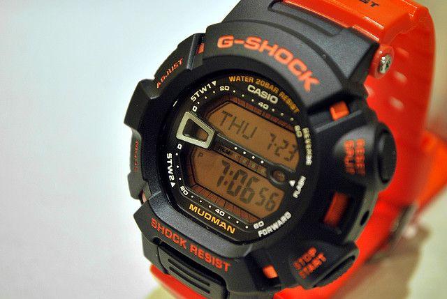 CASIO G-SHOCK MUDMAN Rescue Orange (G-9000R-4)