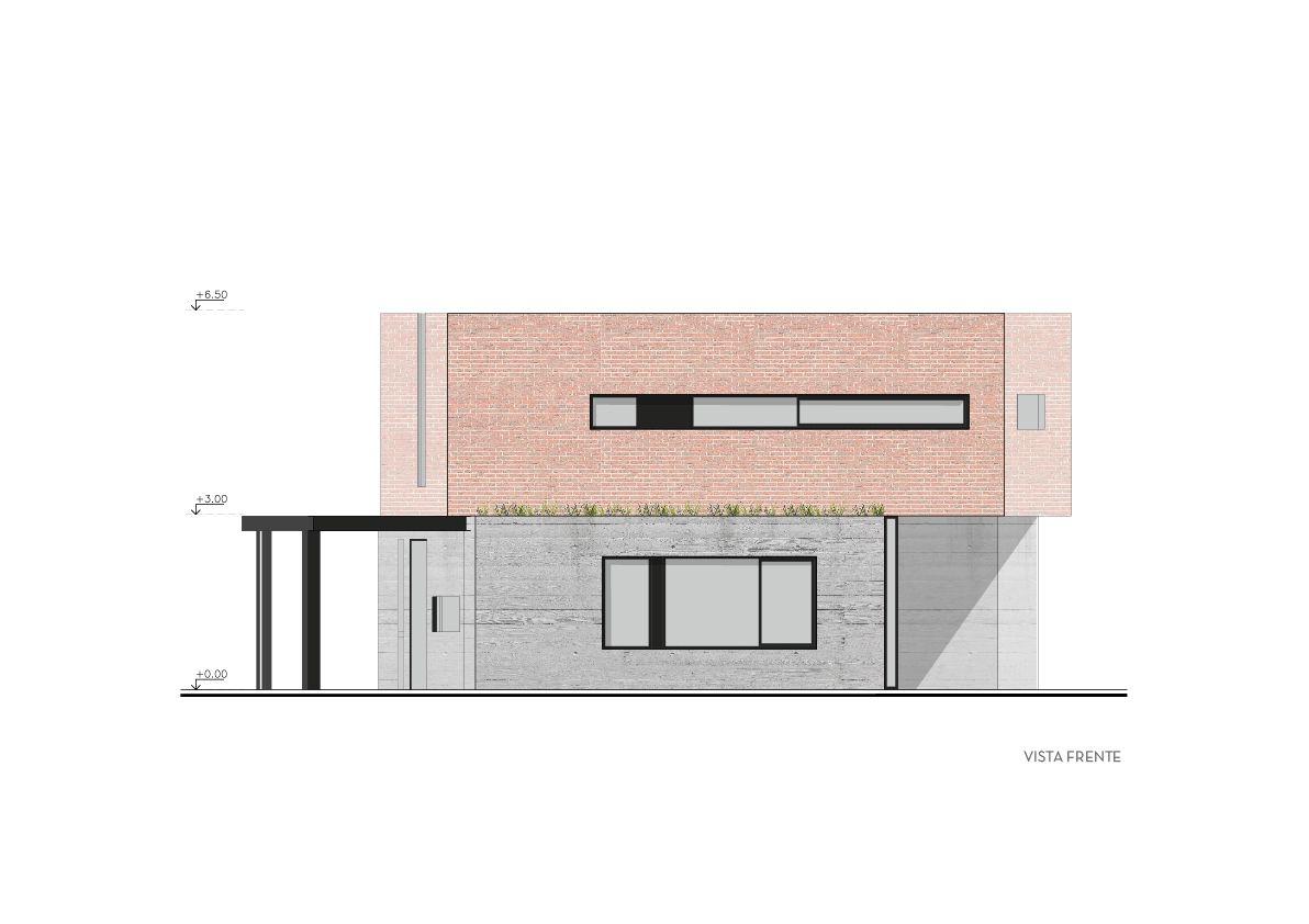 Galeria De Casa Dab Bam Arquitectura 28 House Architect Floor Plans