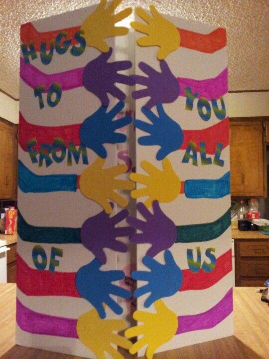 Giant Card For Tanner S Teacher Birthday Cards Diy Teacher Birthday Card Cool Birthday Cards