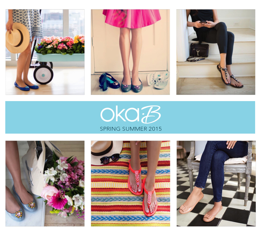 Oka-B Spring Summer 2015: Read about the new styles, colors and inspiration behind the collection!   #OkaB #Spring15 #SS15 #Fashion #Style #Shoes