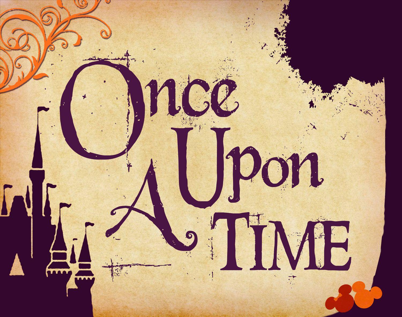Once Upon A Time Disney Wedding Art 11x14 Tan Plum Apple