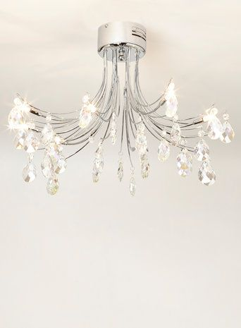 Ina flush ceiling lights home lighting furniture £150
