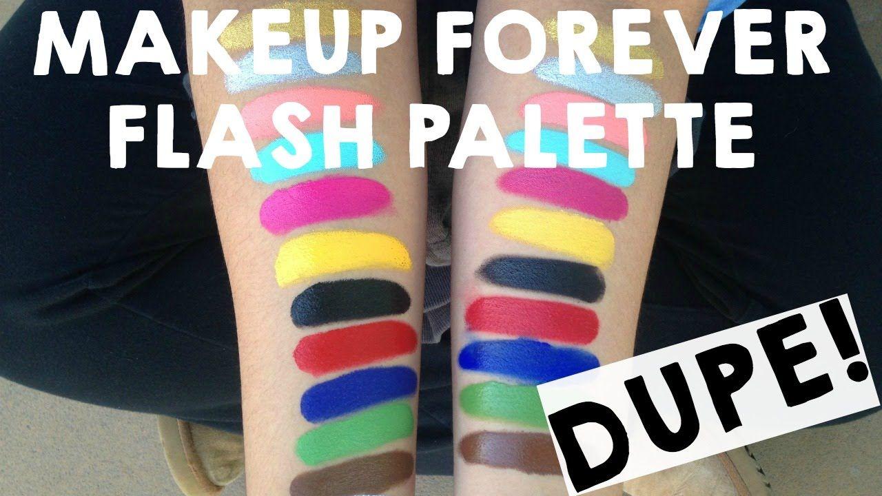 Makeup Forever Flash Palette DUPE! 13 Makeup forever