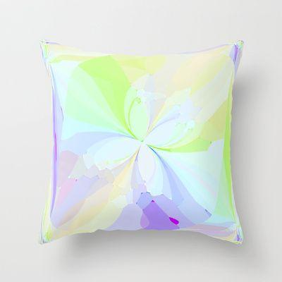 Re-Created ButterfliesVI Throw Pillow by Robert S. Lee - $20.00